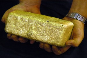 purifying gold dore bars